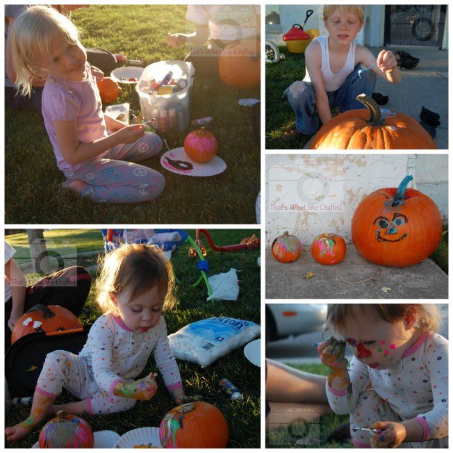 2010 painting pumpkins