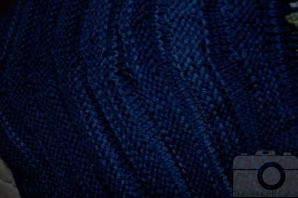 Malabrigo Azul Profundo Close Up-- That's What She Crafted