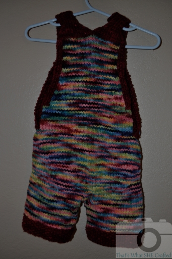 My Keiki Shortalls Back-- That's What She Crafted