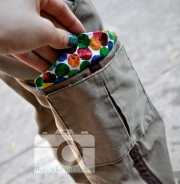 Peek a boo Cargo Pocket-- That's What She Crafted