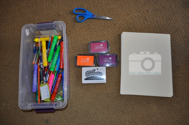 Supplies-- That's What She Crafted